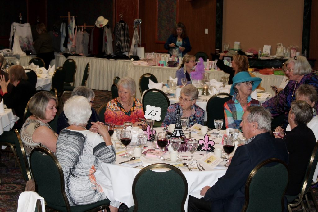 Desert Hot Springs Women's Club Annual Spring Fashion Show Fund-raiser - Somewhere In Time